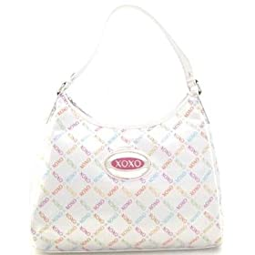 Xoxo Purse Handbag Love Match Available in White & Black Signature Logo