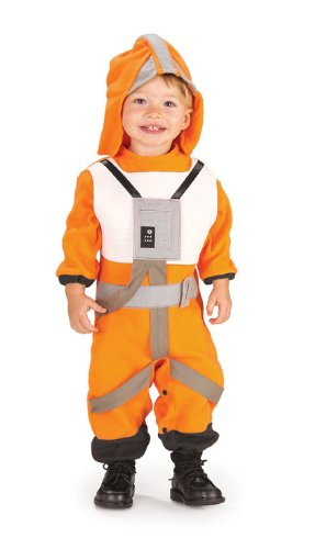 Star Wars Romper And Headpiece X-Wing Fighter Pilot, Pilot Print, 1-2 Years