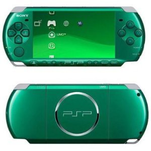 Green Metal Gear Solid PSP-3001 (Metal Gear Portable compare prices)