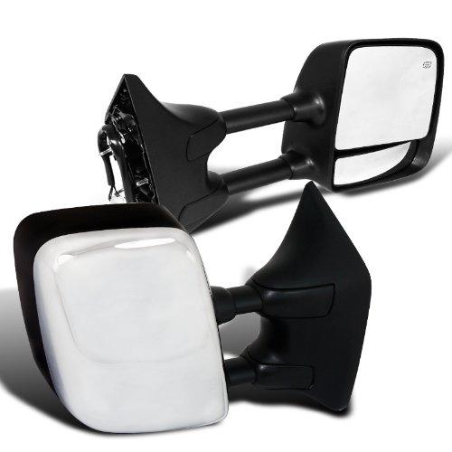 nissan titan le chrome cover power heat adjustable towing. Black Bedroom Furniture Sets. Home Design Ideas