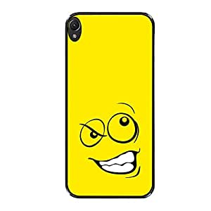 Vibhar printed case back cover for Lenovo A6000 AngryEmoticon