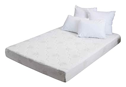 Smooth Top Mattress (Queen: 79 in. L x 59 in. W x 8 in. H (50 lbs.))