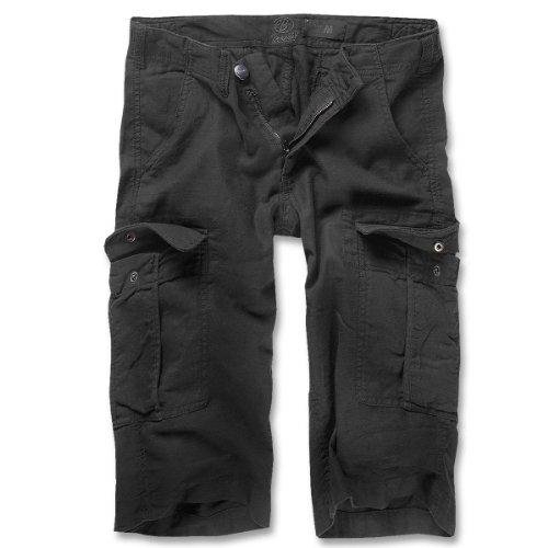 Brandit -  Pantaloncini  - cargo - Basic - Donna Nero  nero