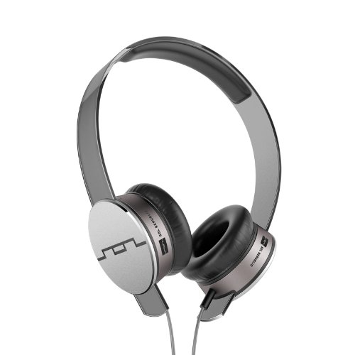 Sol Republic 1241-04 Tracks Hd On-Ear Interchangeable Headphones With 3-Button Mic And Music Control - Grey