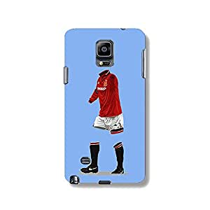 Menchester United Phone case for Samsung Galaxy Note 4