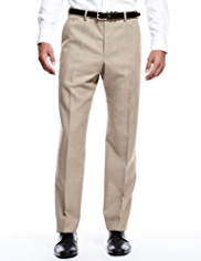 Collezione Luxury Active Waistband Easy Care Flannel Twill Trousers
