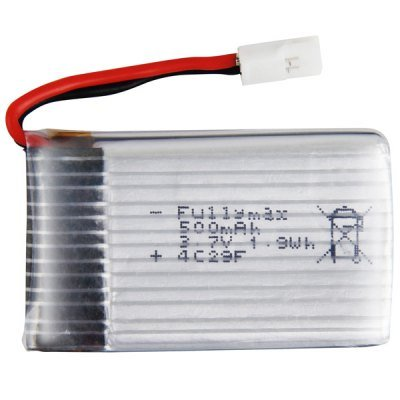 Best Brand Syma X5-11 1.9Wh 3.7V Rechargeable Battery Remote Control Helicopter Accessories Aircraft Fittings Parts - 500Mah