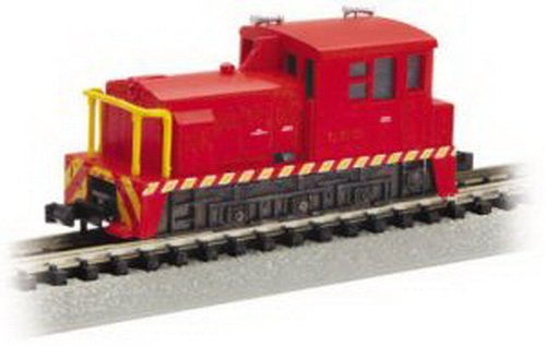 Bachmann Mdt Plymouth Switcher Locomotive Industrial - Red - N Scale