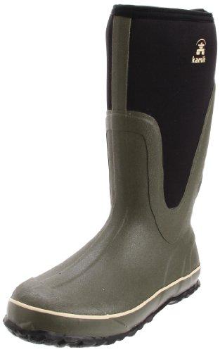 Kamik Men's Lucas 2 Waterproof Boot,Olive,11 M US