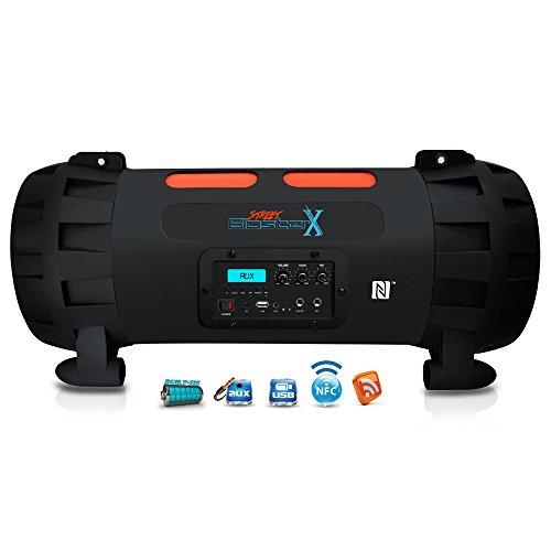 Street Blaster High Power Rugged Portable BoomBox Speaker Bluetooth System New 68888757645