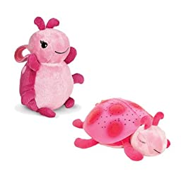 Cloud B Twilight Ladybug, Pink