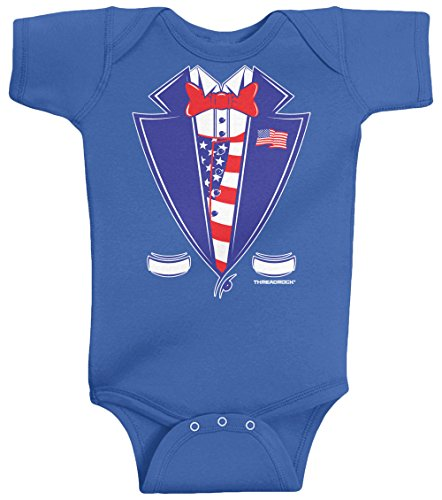 Patriotic Baby Clothes front-345625