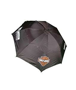 Harley-Davidson 48-Inch Golf Umbrella (Black)