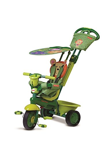 Fisher Price FP1570033 - Triciclo Royal, Verde