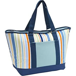 Picnic Time Topanga Insulated Cooler Tote, St. Tropez