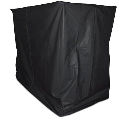 Abdeckhaube Schutzhülle für Hollywoodschaukel in schwarz 200x120x185cm