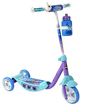 Disney Frozen 3 Wheel Light Up Kids Scooter with Water Bottle available at Amazon for Rs.15258.400390625