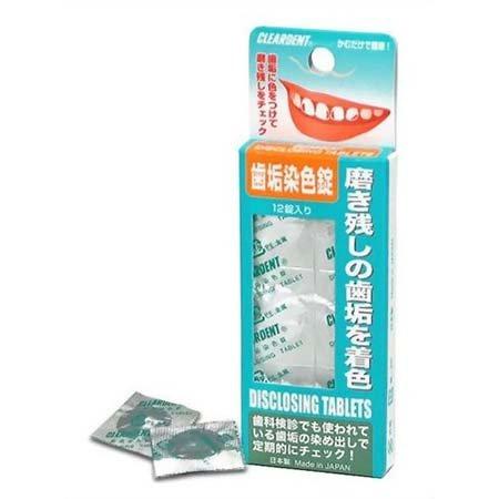 クリアデント 歯垢染色錠 12錠