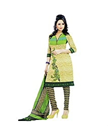 Miraan Synthetic Dress Material / Chudidar Suit for Women