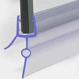 Rubber Plastic Bath Shower Screen Seal Strip For 4 6mm