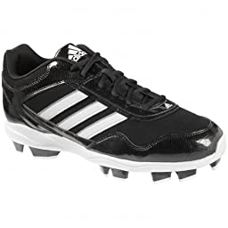 adidas Mens Excelsior Pro TPU Low Baseball Cleats (16 D(M) US, Black/Silver)