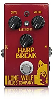 Lone Wolf Blues Company Harp Break ブルースハープ/ハーモニカ用ディストーション極上チューブハープアンプの歪みを作る ローンウルフブルースカンパニー ハープブレイク 国内正規品