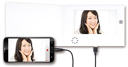 スマホやパソコンから簡単アップロード!ビデオメッセージカード「ViMeCa-SP 7inch」