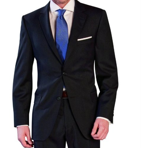 Men`s Suit Lanificio Tessile D'Oro dark blue 26 (42 Short)