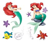 Blue Mountain Wallcoverings GAPP1816 Little Mermaid Self-Stick Room Appliqus