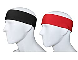 GoYonder Dri Fit Sports Headband (Set of 2 Colors) by GoYonder