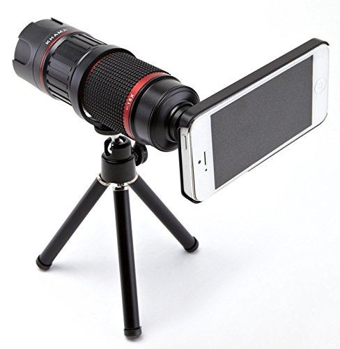 Hm-Ant Circular Shape 4-12X Zoom Mobile Phone Telephoto Lense Optical Magnification Micro Telephoto Telescope For Iphone 4 4S 5 5S Samsung Galaxy S3 S4 S5 Note 2 3 (Galaxy Note 3)