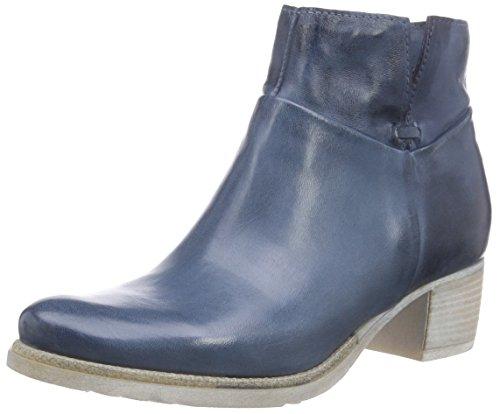 Mjus128207 - Stivaletti a gamba corta mod. Classics, senza imbottitura Donna , Blu (Blau (Air)), 40