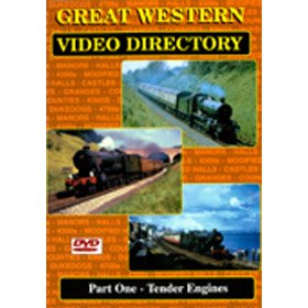 Great Western Video Directory Part 1: Tender Engines - DVD - Transport Video Publishing