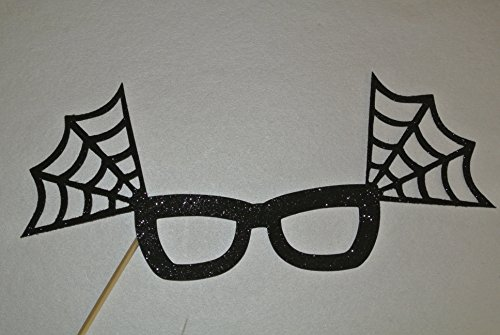 Halloween Photo Booth Party Props Black Glasses Boo