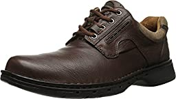 Clarks Unstructured Men\'s Un.Ravel Casual Oxford,Brown,7 M US