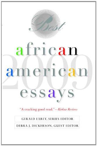 Best African American Essays: 2009