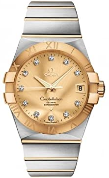 buy Omega Constellation Automatic Champagne Dial Mens Watch 12320382158001