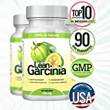 Lean Garcinia Cambogia Extract – 60 Capsules (Featuring Lean Clinically-proven, Multi-patented 60% HCA Extract for Weight-loss & Appetite Control) 1,000 Mg Per Serving