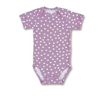 Baby Boum Unisex Baby  Long Sleeve Babygrow Spotty/Purple 0-3 Months