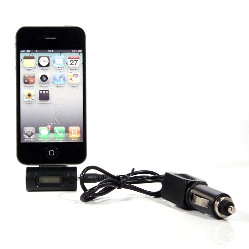 Battery--World Wireless FM Radio Transmitter For MP3 IPod + Car Charger