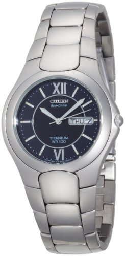 Citizen Men's Eco-Drive Corso Titanium Watch #BM8120-56E