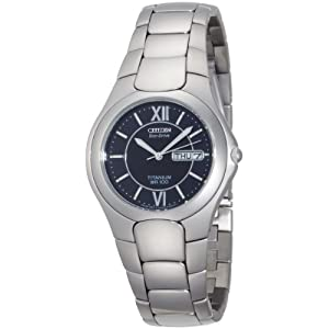 Citizen Men's BM8120-56E Eco-Drive Corso Titanium Watch