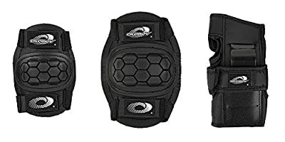 Osprey Children's Skate Bmx 6pc Knee, Elbow and Wrist Protective Set