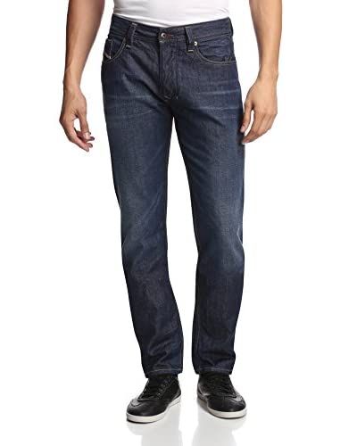 Diesel Men's Tapered Slim Larkee 5 Pocket Jeans