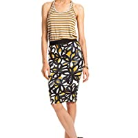 Trina Turk Ashby Skirt in Golden