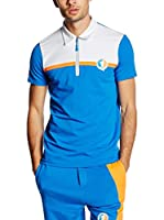 Dirk Bikkembergs Polo (Azul Royal / Blanco)
