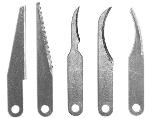 Excel 5-Piece Assorted Carving Blades