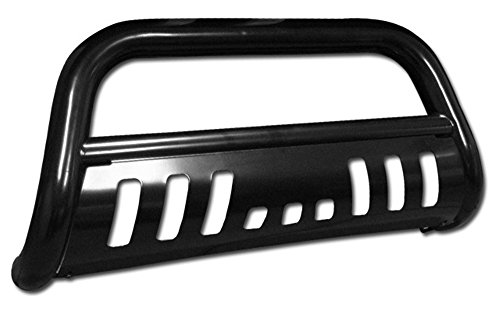 Black Front Bumper Bull Bar Guard For 1999-2007 Ford F250 / F350 / F450 / F550 Superduty Models ( Will Not Fit Harley Davidson Edition Models ); 2000-2005 Ford Excursion All Models (2004 Ford F350 Bull Bar compare prices)