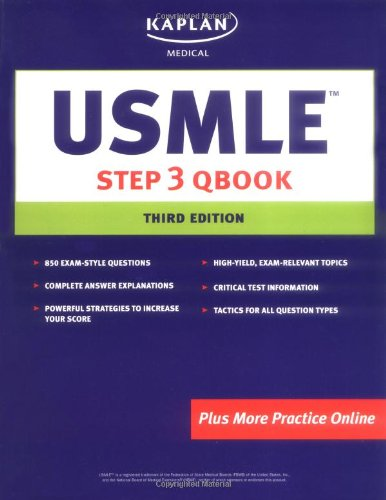 USMLE Step 3 Qbook (Kaplan USMLE Qbook) (Step 3 Qbook compare prices)