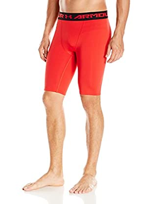 Under Armour Pantalón Interior Técnico Ua Hg Armour Long Comp Short (Rojo)